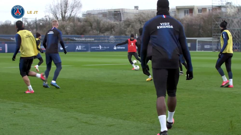 Les images du PSG ce mardi : entraînement et conférence de presse avant d'affronter Lyon