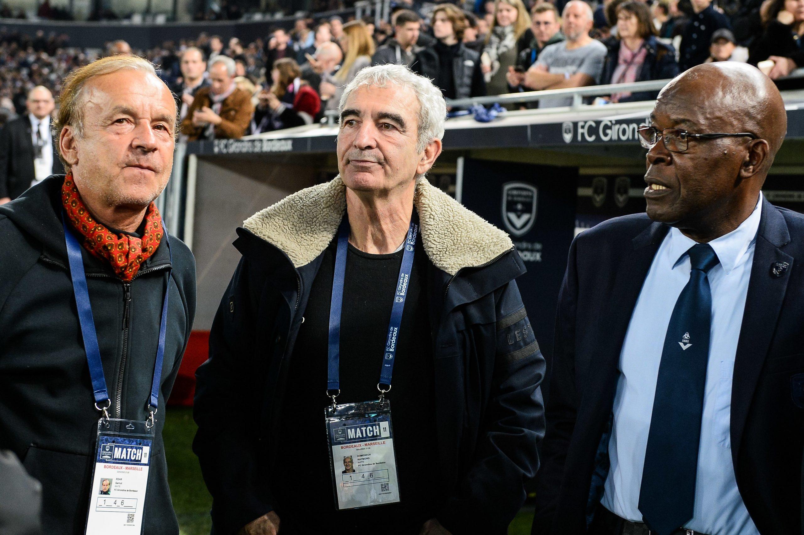 """Domenech annonce que les entraîneurs """"sont toujours dans l'idée de reprendre"""""""