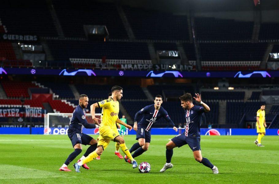 Sept clubs, dont le PSG, intéressés par Hakimi — Borussia Dortmund