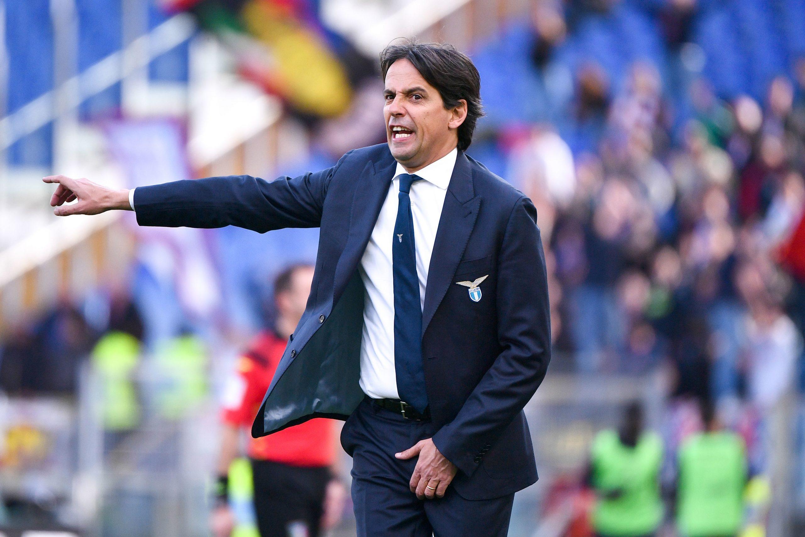 Mercato - Le PSG cité parmi les clubs intéressés par Simone Inzaghi, la Lazio voudrait le prolonger