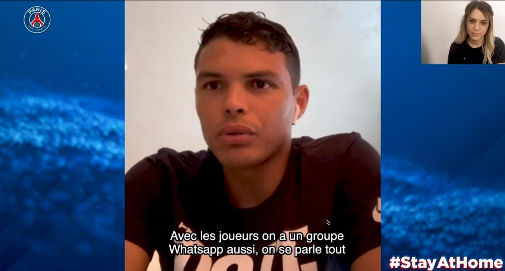 Les images du PSG ce mardi : famille, exercices et des nouvelles de Thiago Silva