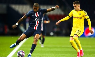 4 défenseurs dans le top 10 des dribbleurs au PSG sur la saison 2019-2020
