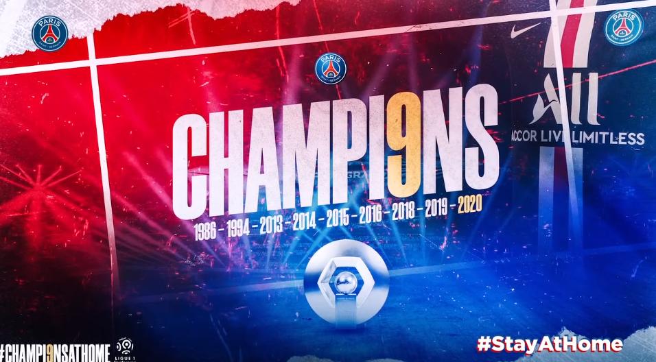 Les images du PSG ce jeudi : célébrations du titre de champion de France