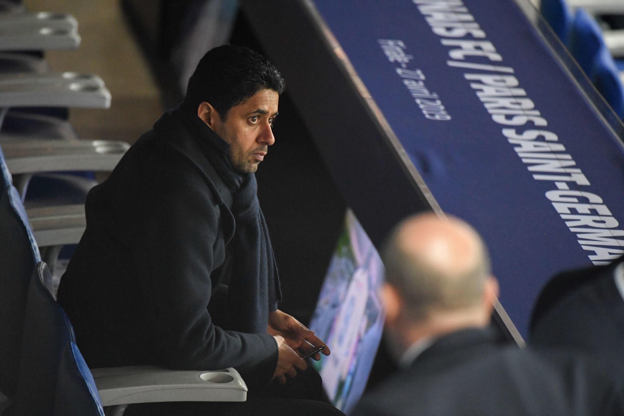 La baisse des salaires particulièrement bloquée au PSG, Al-Khelaïfi agacé explique L'Equipe