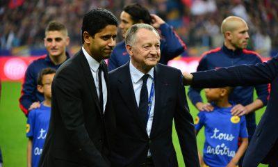 Aulas fait l'éloge d'Al-Khelaïfi et souligne l'importance du PSG pour le football français