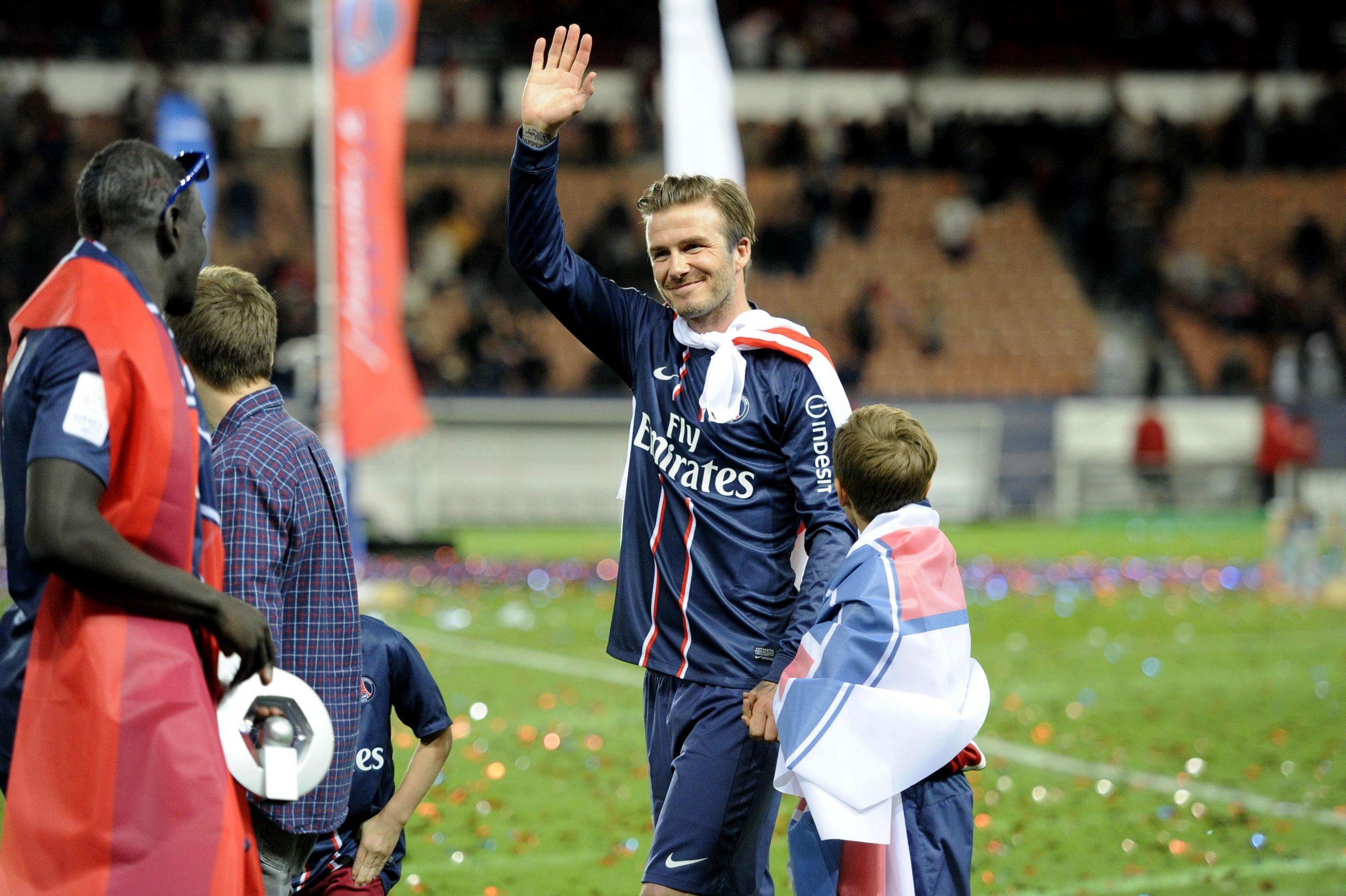 Les images du PSG ce lundi : programme sur PSG TV et fin de carrière de Beckham