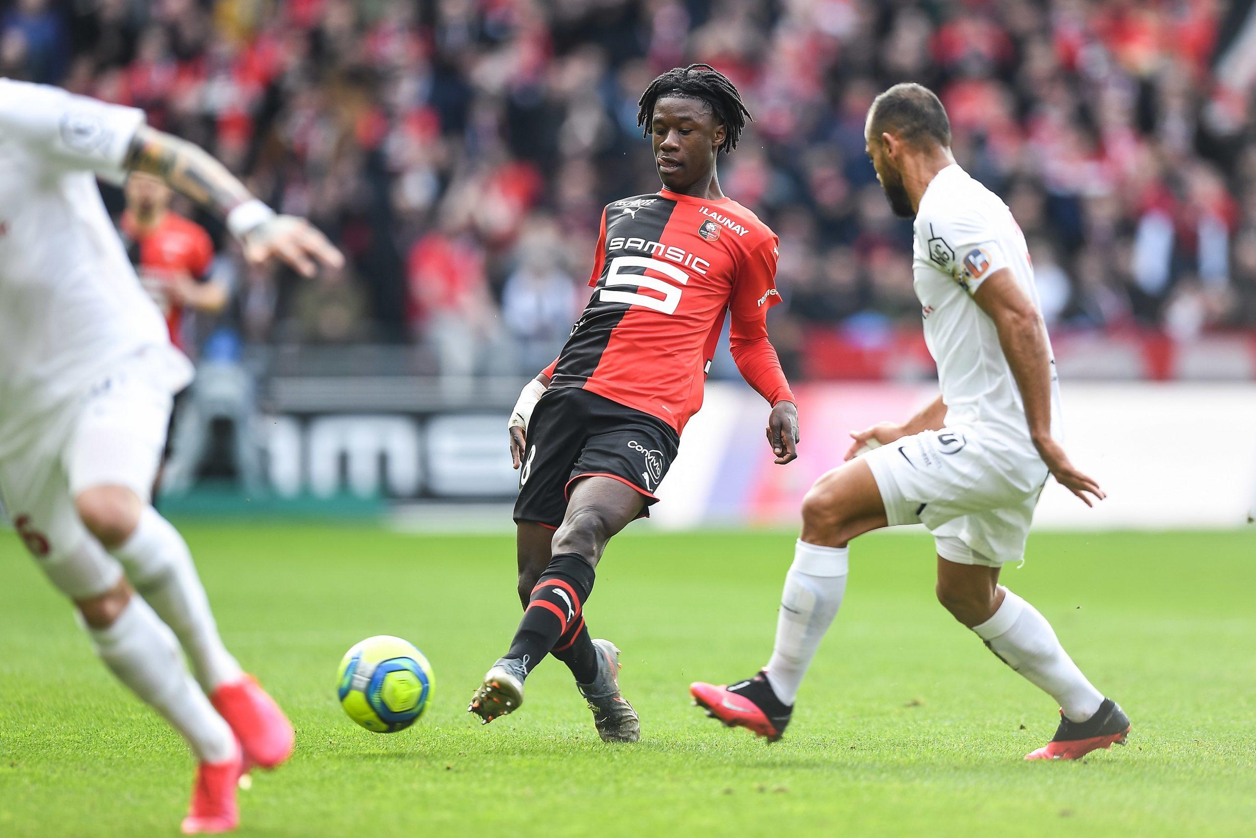 Mercato - Ménès conseille au «phénomène» Camavinga de rester à Rennes