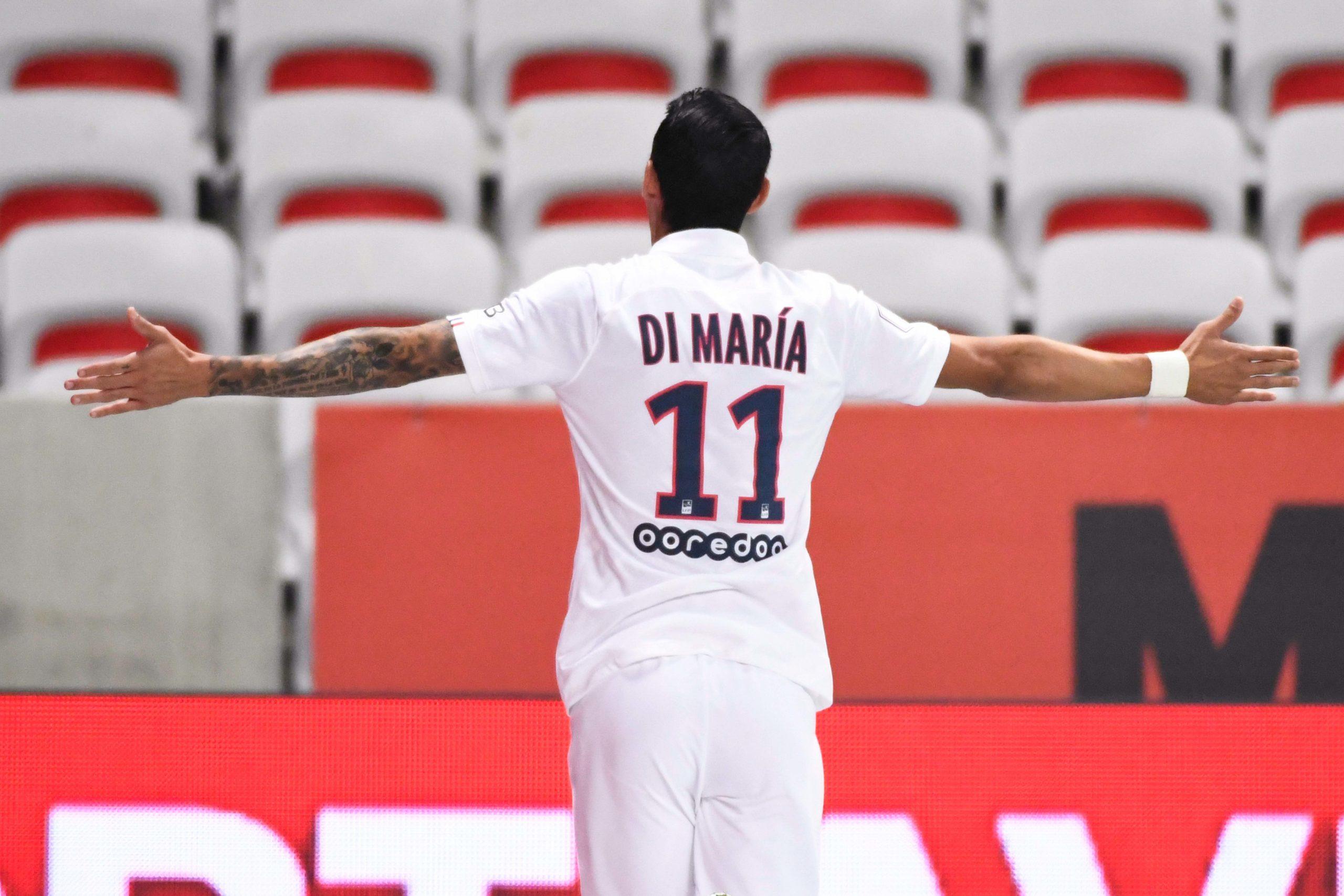 La plus belle réalisation du PSG cette saison, 2e manche : Le lob de Di Maria contre Nice s'impose