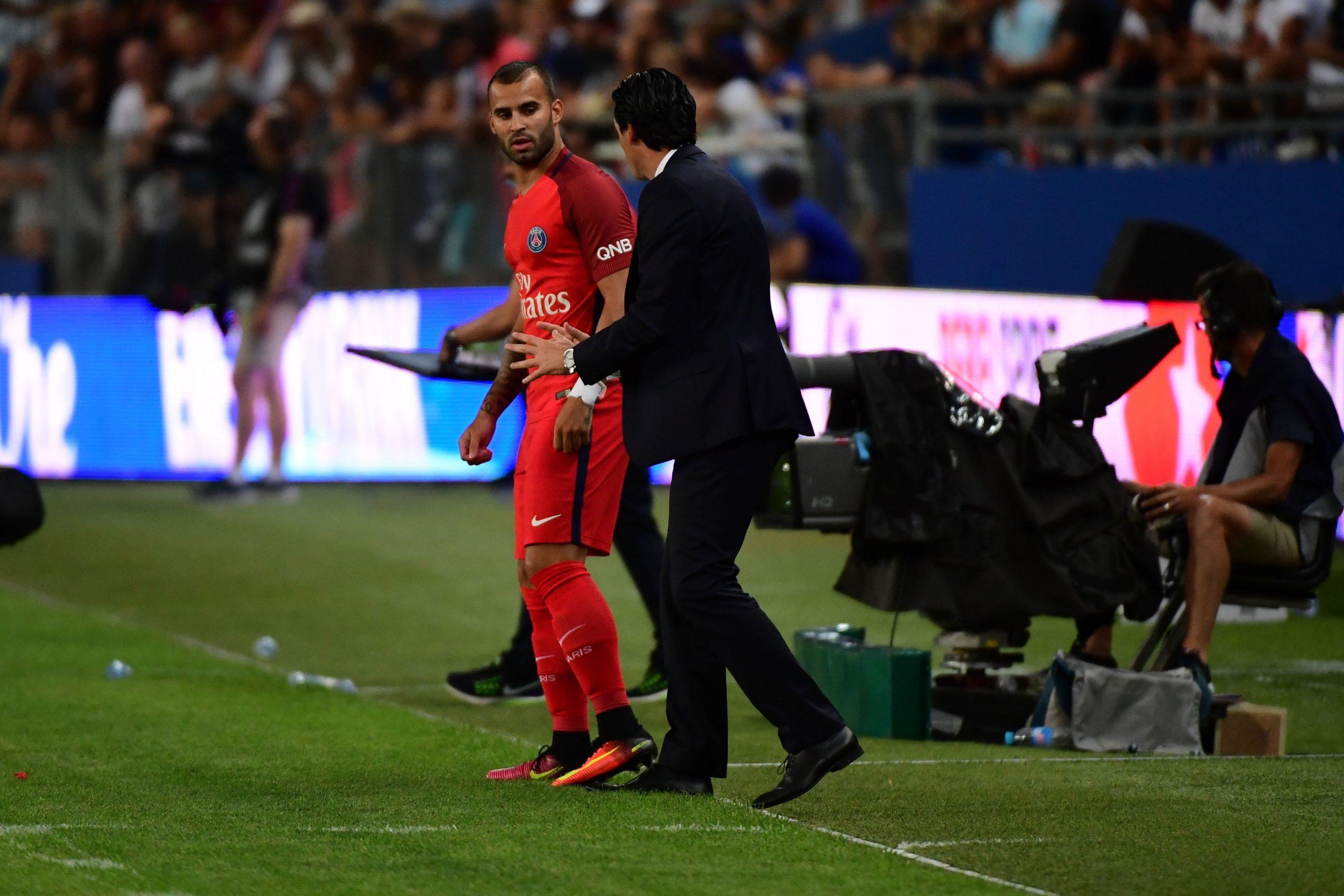 """Emery croit encore en Jesé """"il a encore le temps de montrer son potentiel"""""""