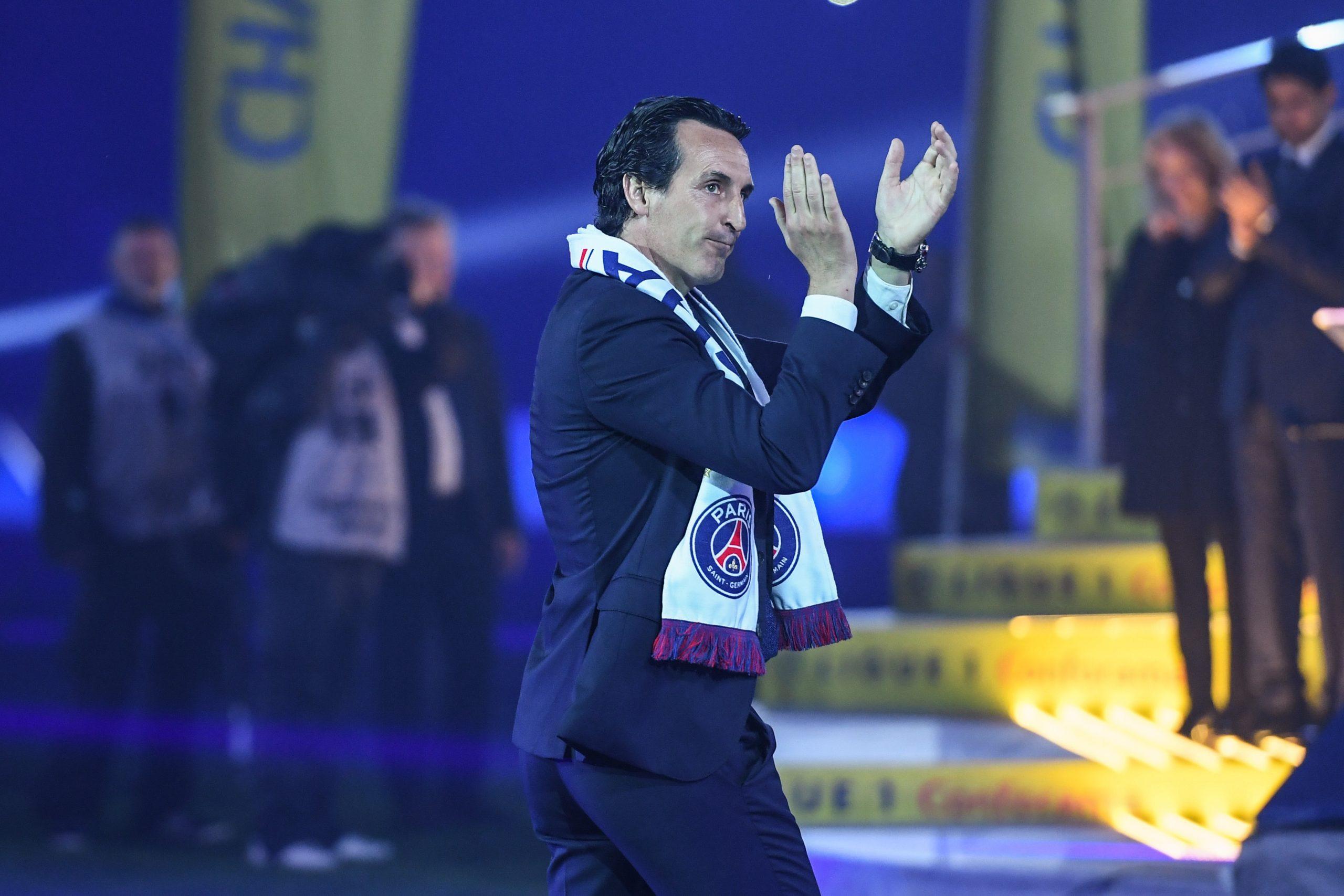 Emery assure que le PSG gagnera la Ligue des Champions «c'est un très grand club»