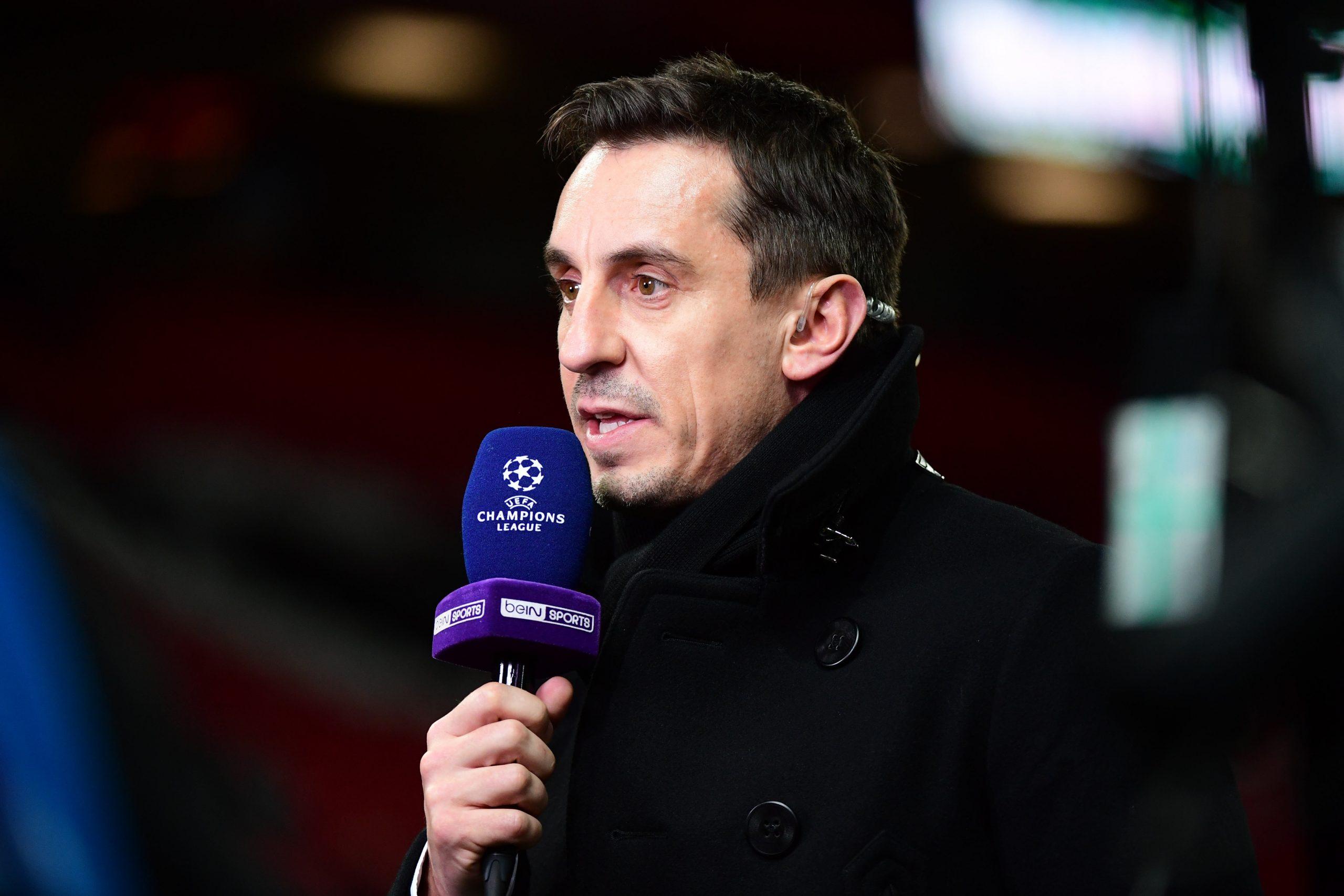 """Gary Neville répond à la femme de Di Maria """"à Manchester United, il était horrible"""""""