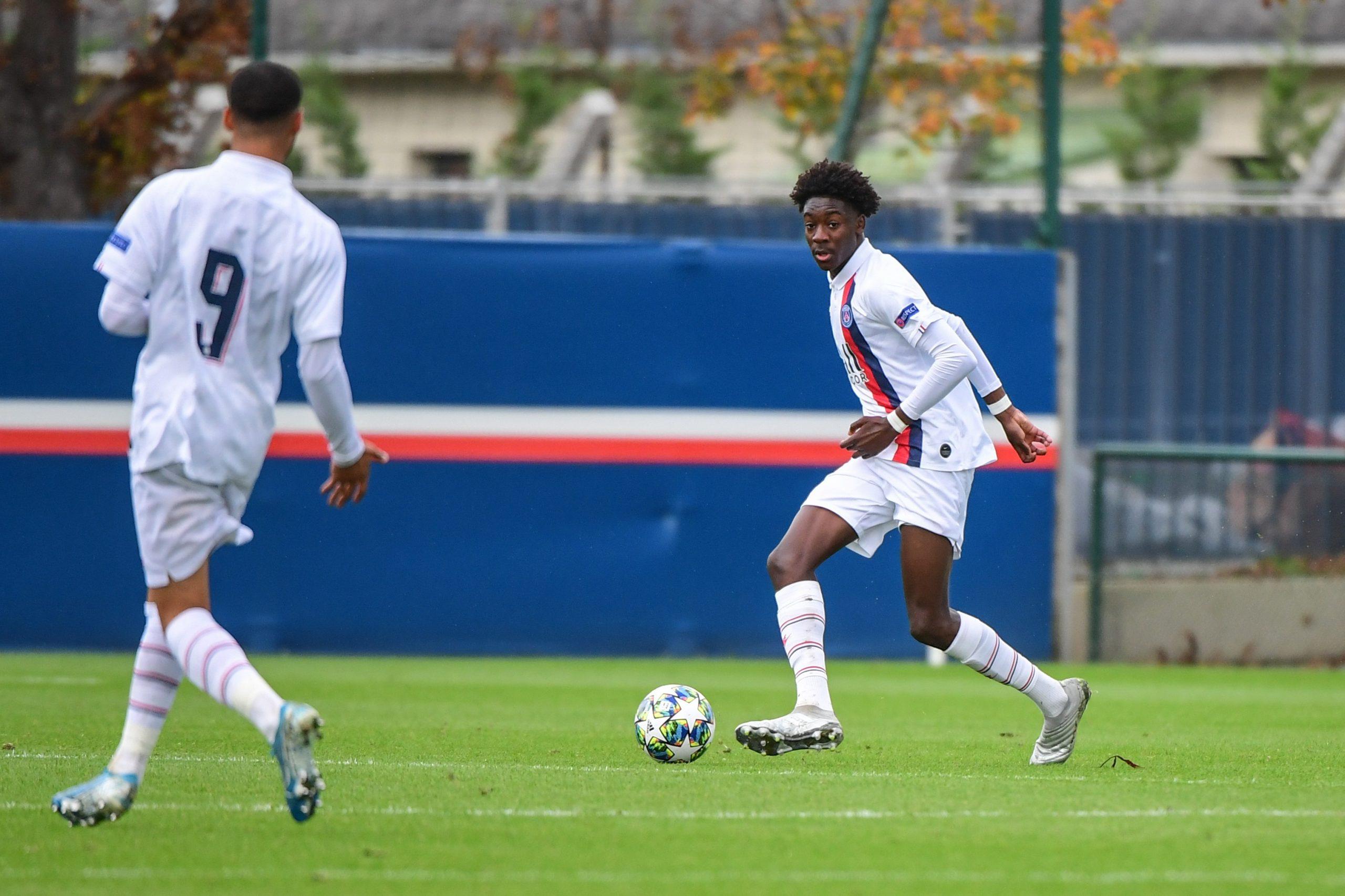 Mercato - Sochaux intéressé par Maxen Kapo, capitaine des U19 du PSG