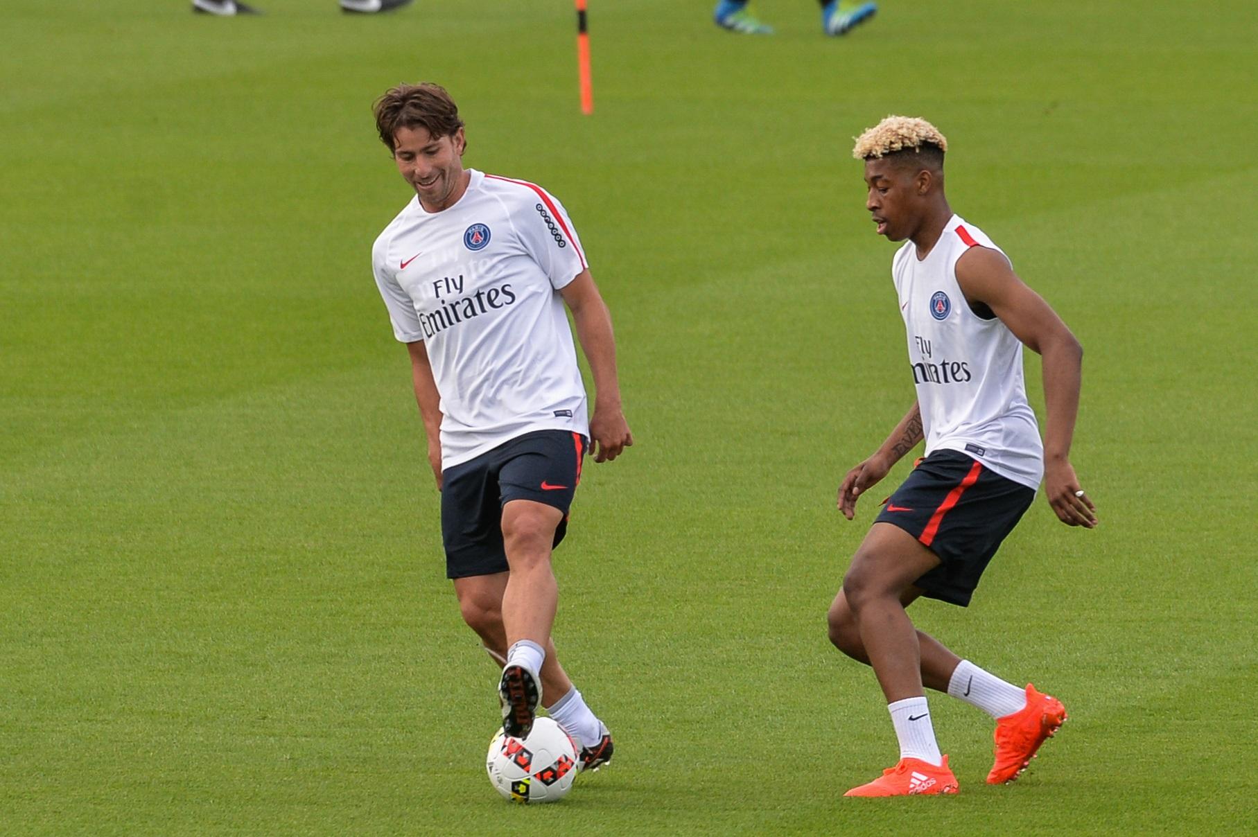 Kimpembe a été particulièrement impressionné par Maxwell au PSG