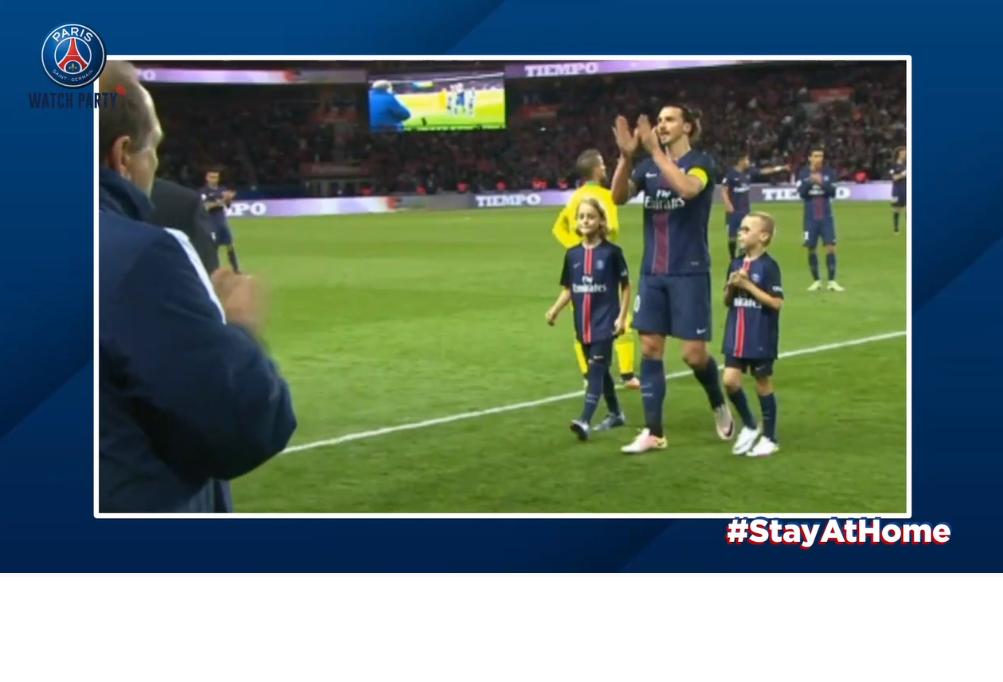 Les images du PSG ce samedi : occupation, dernier match d'Ibrahimovic et anniversaire de David Beckham