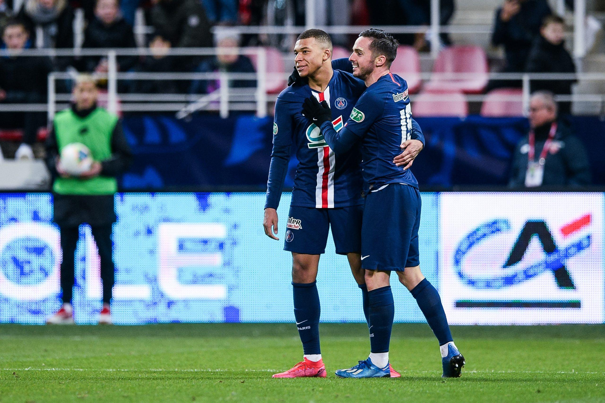 Sondage - Quel est le plus beau but du PSG cette saison ? Partie 7 : Sarabia ou Mbappé ?