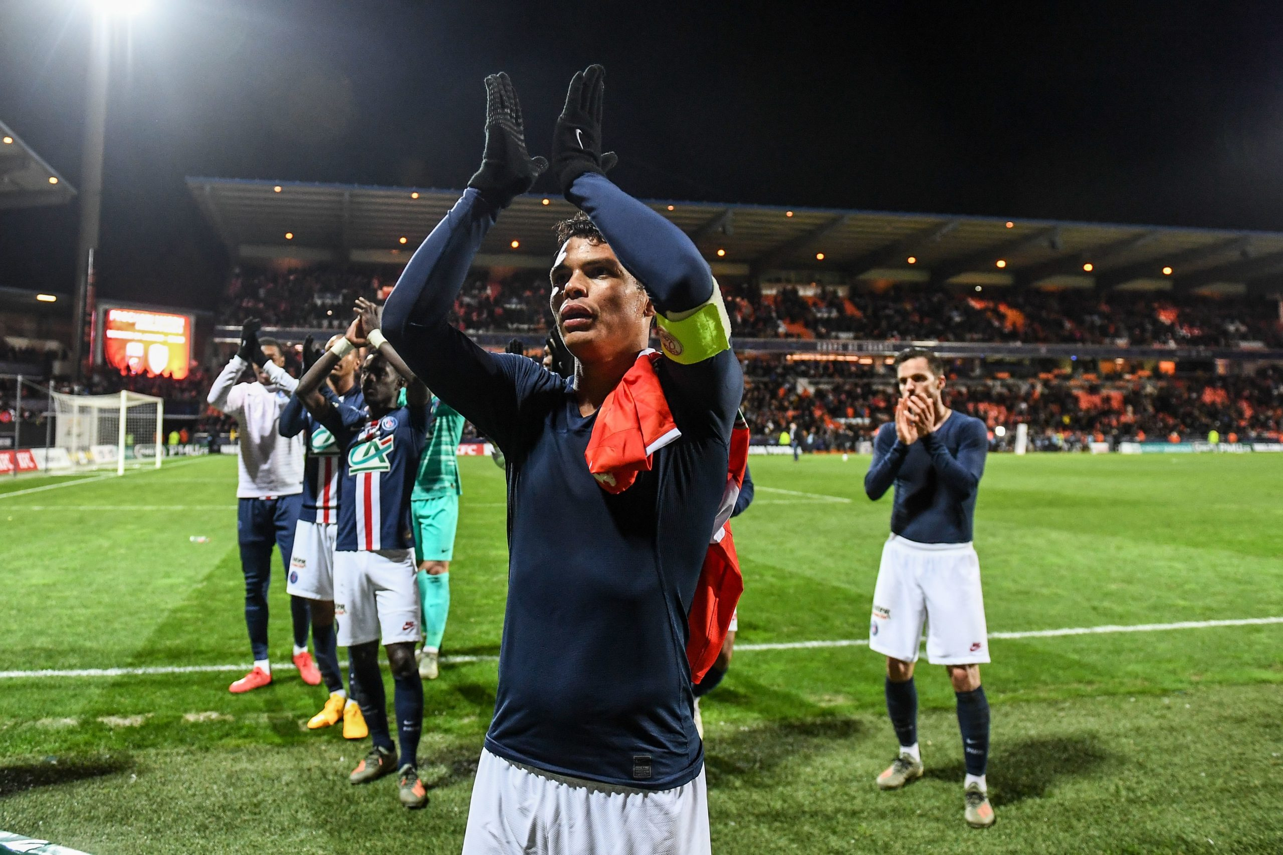 """Thiago Silva évoque le titre """"C'est le championnat le plus étrange qui j'ai gagné"""""""