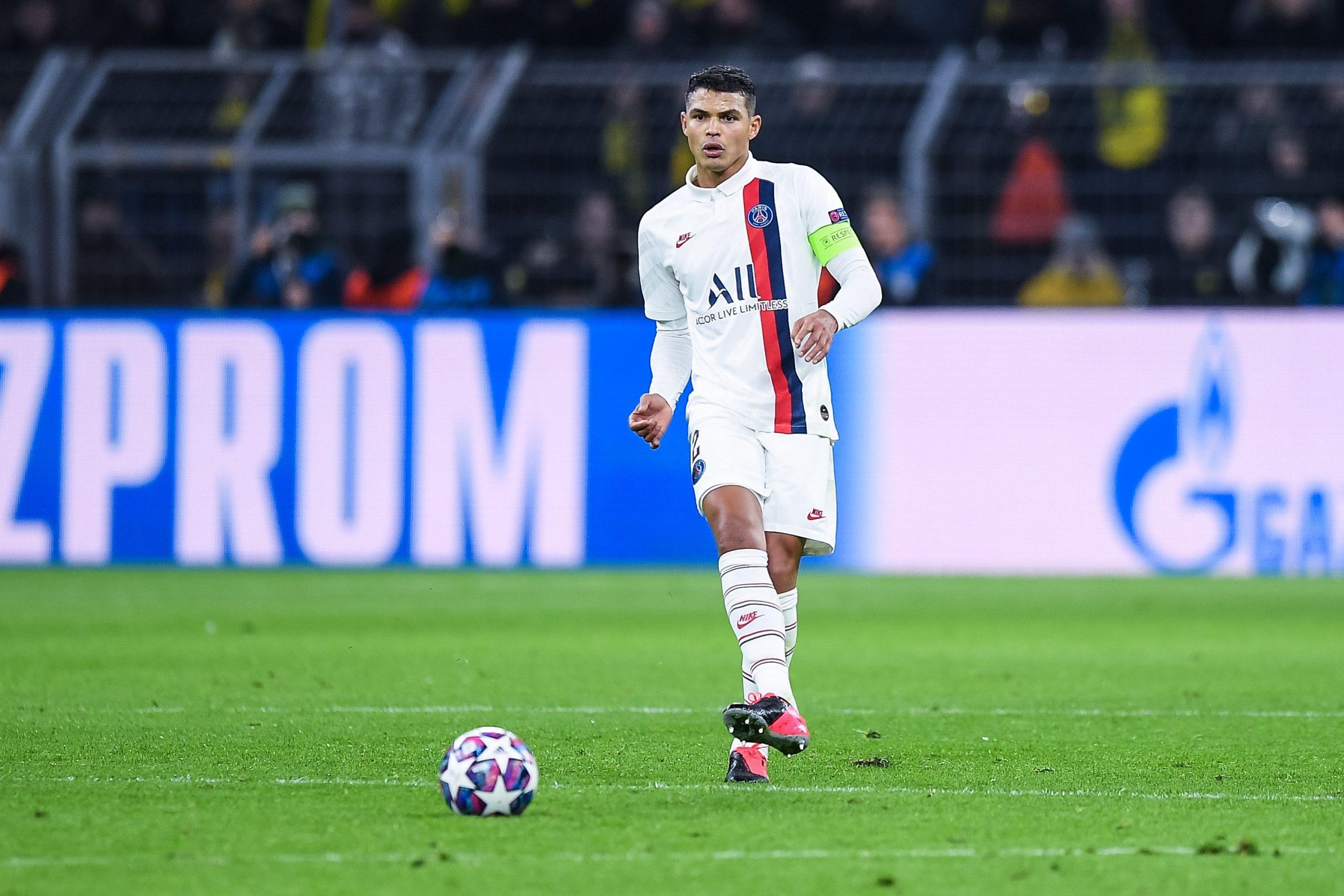 Mercato - Thiago Silva serait en contact avec Everton, où il retrouverait Ancelotti