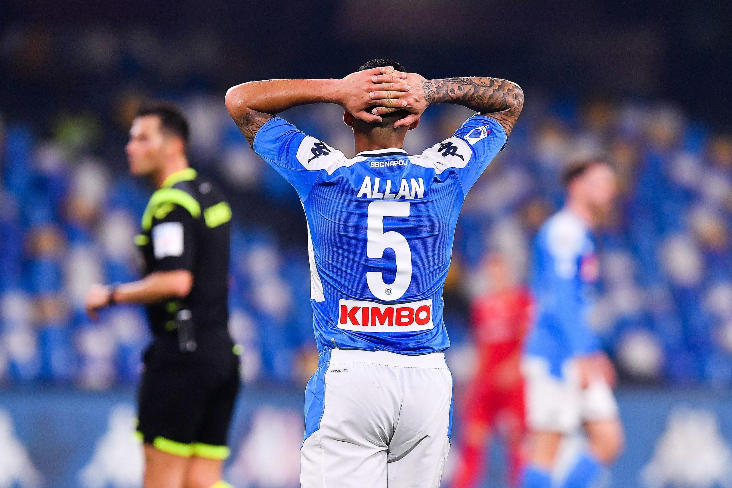 Mercato - Allan pourrait se diriger vers Everton ou le PSG