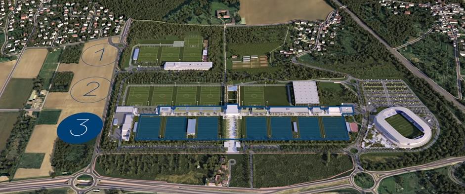 Le lancement du nouveau centre d'entraînement du PSG n'a pas été retardée par la crise