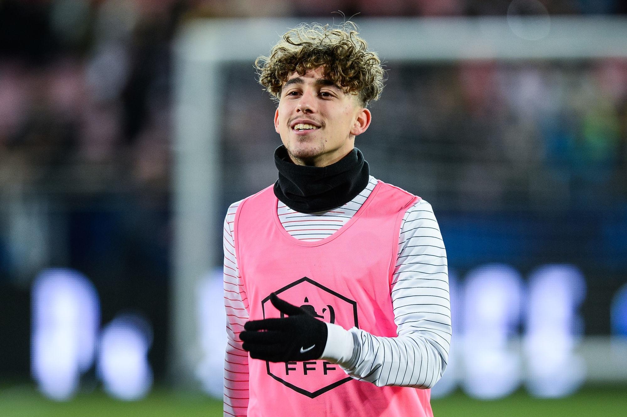 Mercato - Le PSG propose à Aouchiche de prendre la place de Draxler, indique RMC Sport