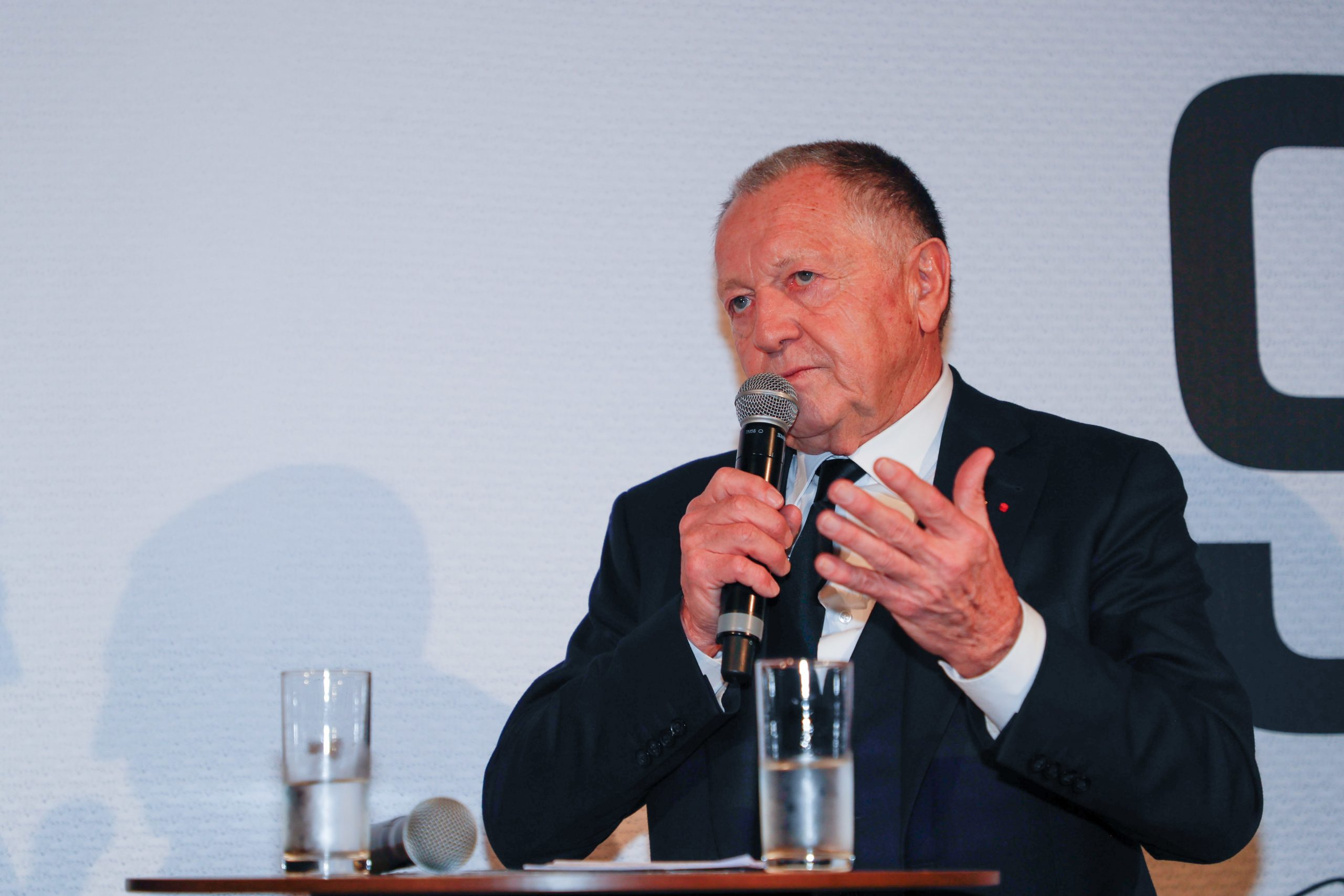 """Aulas explique le manque de solidarité dans le football avec """"le gap économique"""" et la """"jalousie"""""""