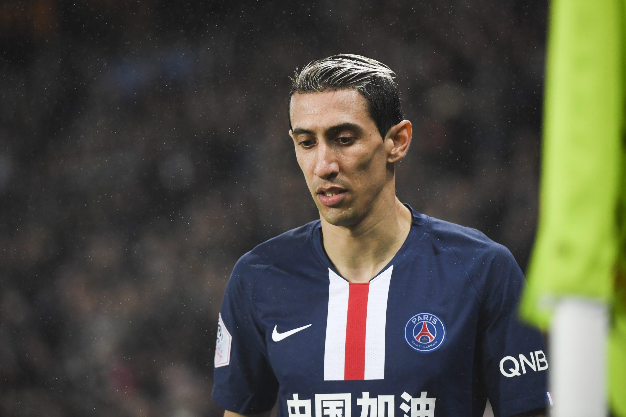 """Di Maria se livre sur confinement et de l'arrêt de la Ligue 1 """"il faut accepter les décisions"""""""