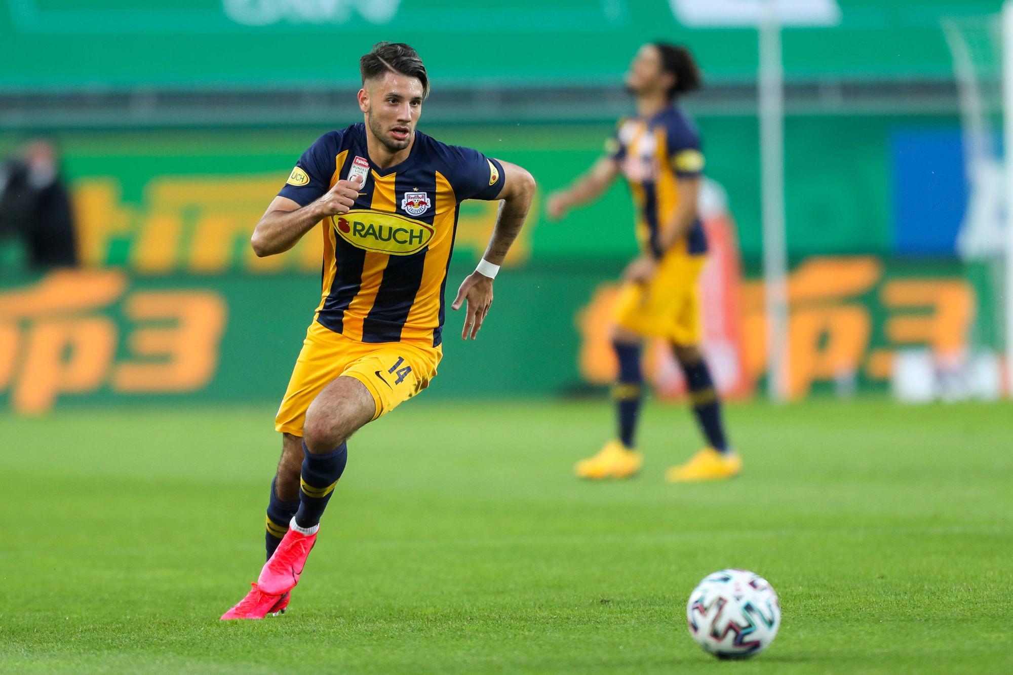 Leonardo s'intéresse à un jeune milieu du RB Salzbourg du nom de Dominik Szoboszlai