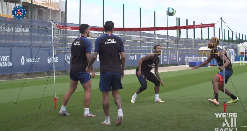 Les images du PSG ce mardi : entraînement et fête d'anniversaire pour Paredes