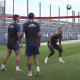 Revivez l'entraînement de lundi au plus près des attaquants du PSG