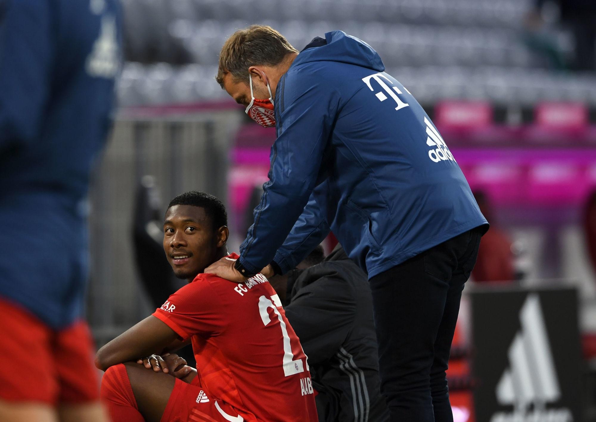 """Mercato - Flick assure que le Bayern Munich veut garder Alaba et il est """"optimiste"""""""