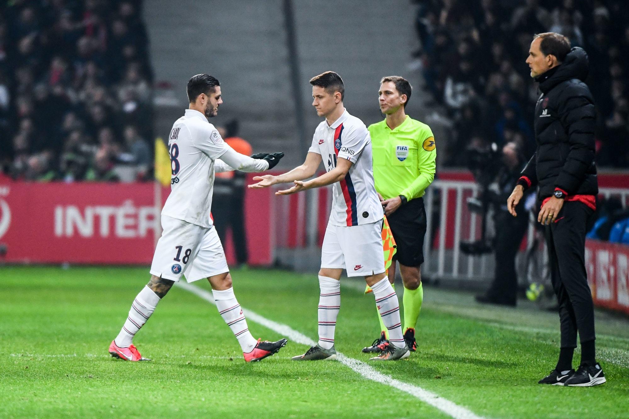 """Ander Herrera se réjouit du transfert définitif d'Icardi """"un attaquant du top 3"""""""