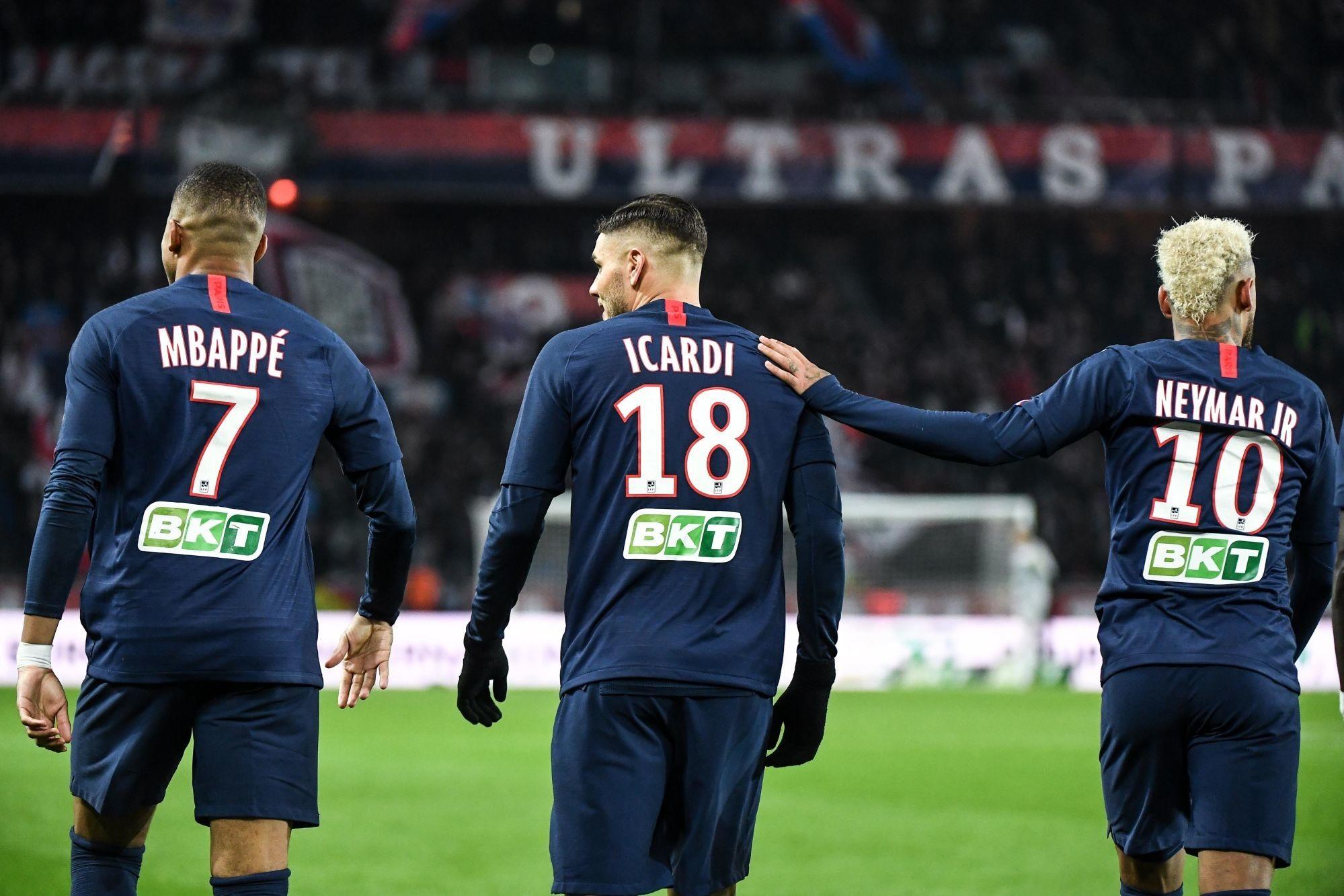 Roustan voit Icardi très bien rentrer dans l'équipe du PSG, notamment avec Neymar et Mbappé