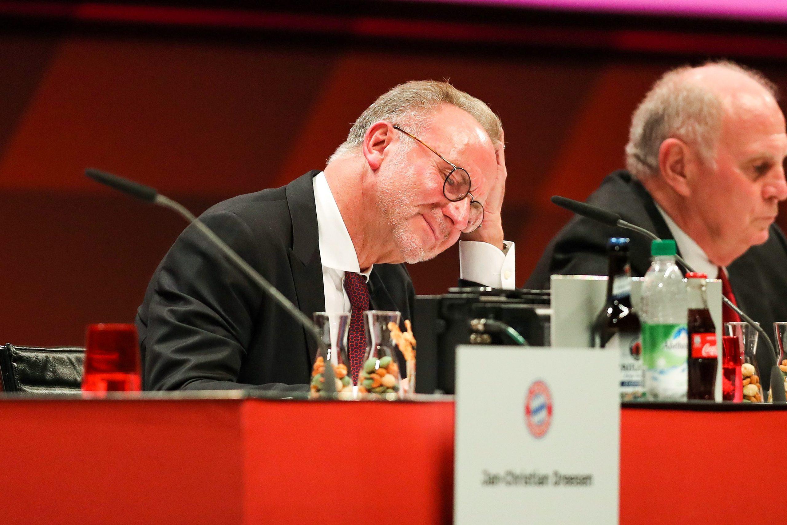 """Rummenigge critique le """"titre sur tapis vert"""" du PSG avec son """"avalanche de procès"""""""