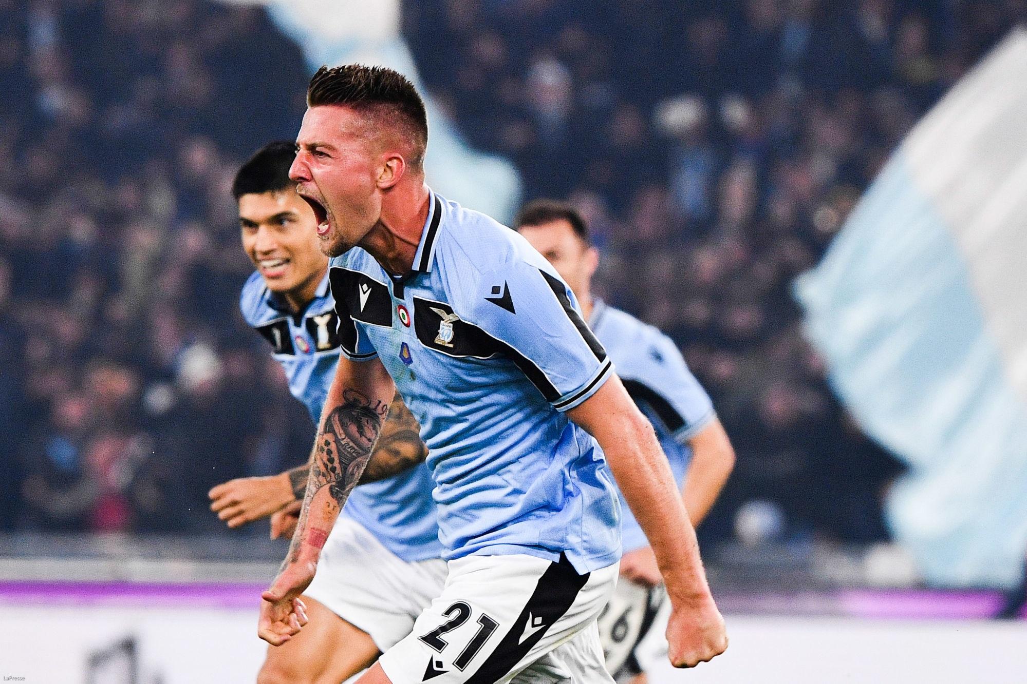 Mercato - La Lazio Rome évoque l'éventuel transfert de Milinkovic-Savic