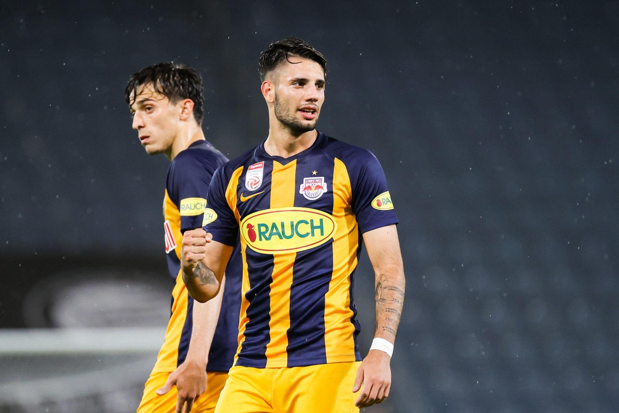 Mercato - Le RB Salzbourg dément l'éventuel transfert de Szoboszlai au PSG