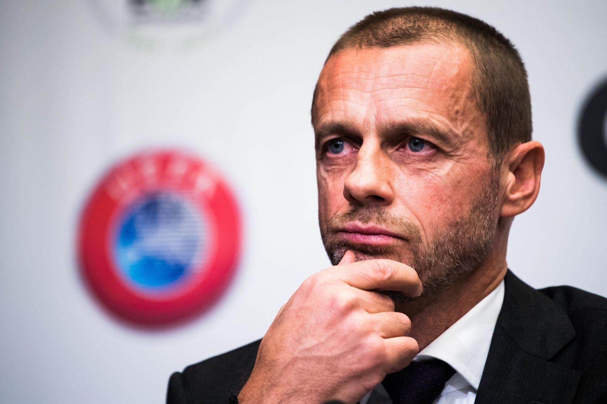 """Le président de l'UEFA souligne qu'il n'y a """"pas besoin d'un plan B"""" pour finir la Ligue des Champions"""