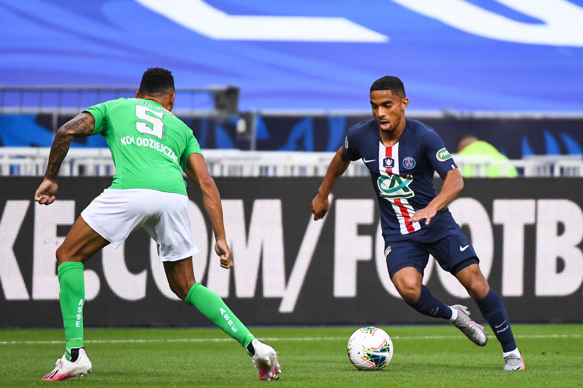 """PSG/Saint-Etienne - Dagba revient sur la victoire et assure """"On veut monter en puissance"""""""