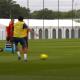 Revivez l'entraînement de mardi au plus près des défenseurs du PSG