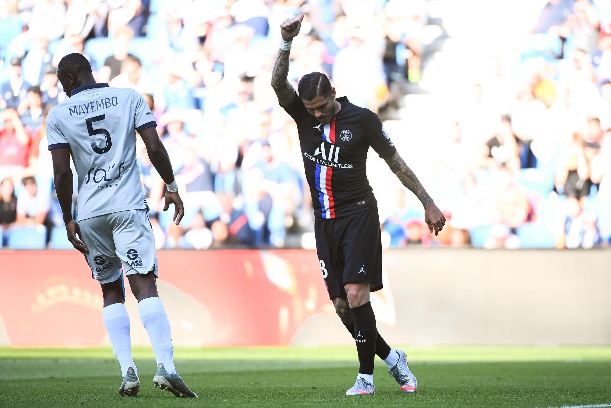Icardi souligne que le PSG ne peut pas se relâcher en Ligue 1 et remercie encore les supporters