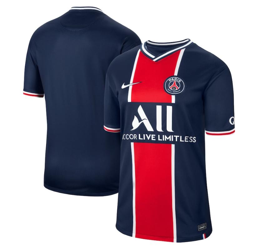 Officiel - Le PSG présente son maillot domicile de la saison 2020-2021