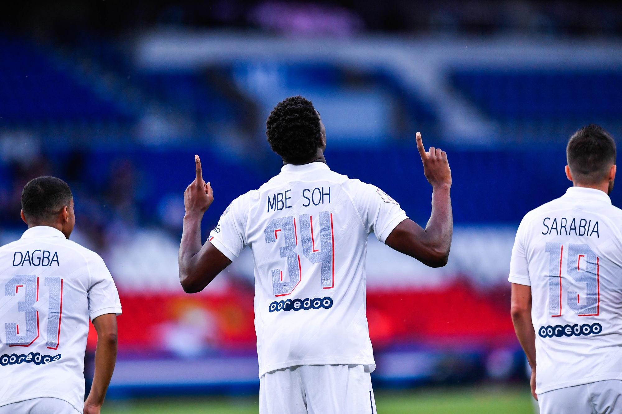 """PSG/Waasland-Beveren - Mbe Soh évoque le travail de l'équipe et """"une immense fierté"""""""