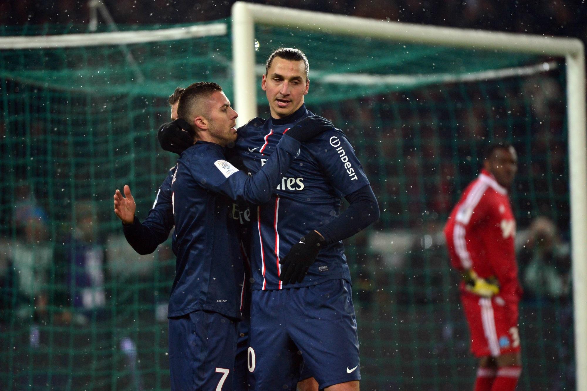 """Ménez """"remercie"""" Zlatan Ibrahimovic, qui l'a aidé à grandir"""