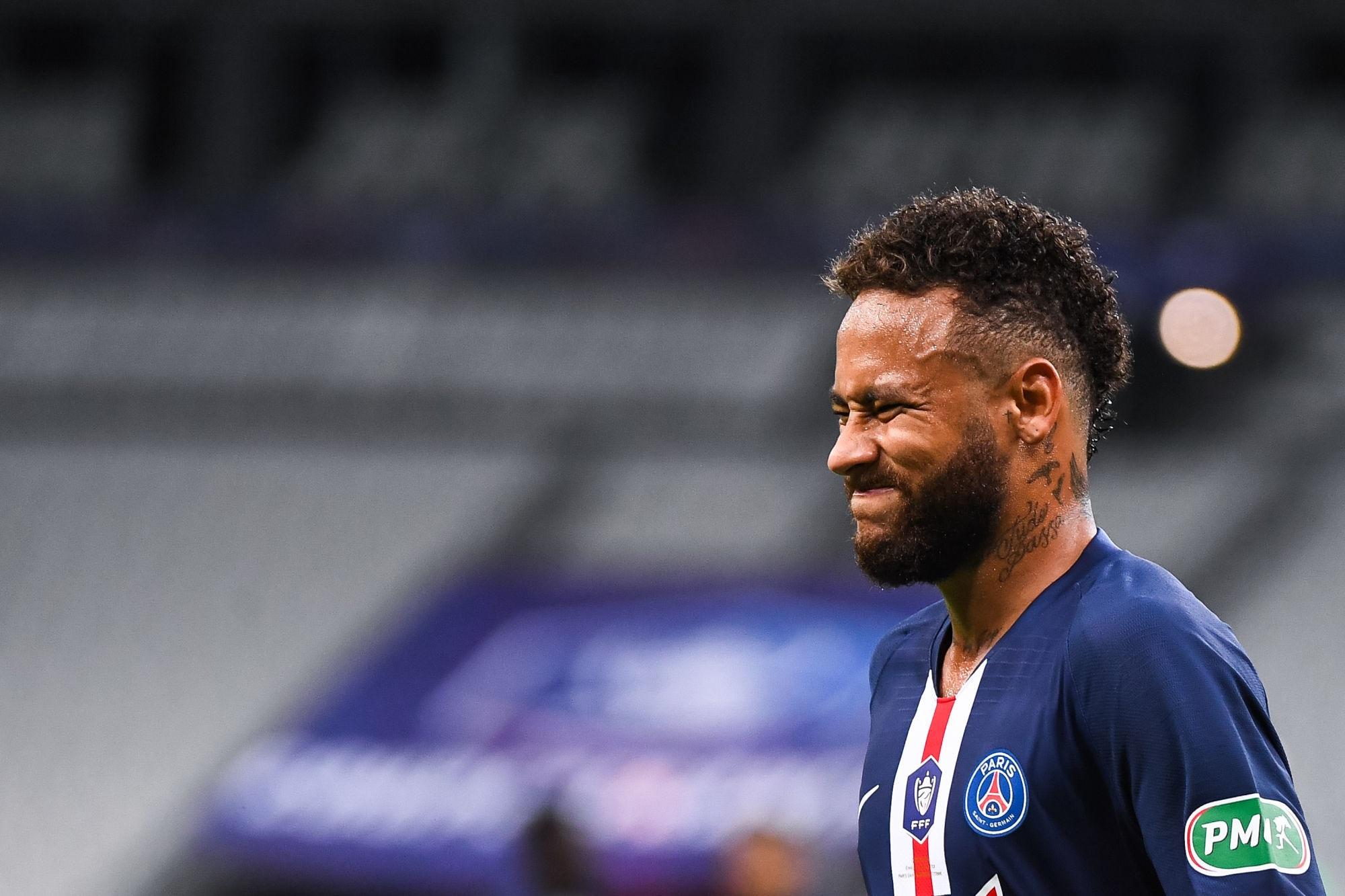 """Alonzo déçu par un Neymar """"catastrophique"""" lors de la finale contre Saint-Etienne"""
