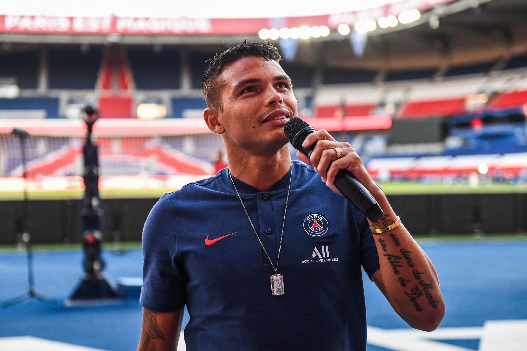 """Thiago Silva """"Il me reste deux mois et je vais tout donner pour remporter le plus de titres possibles"""""""