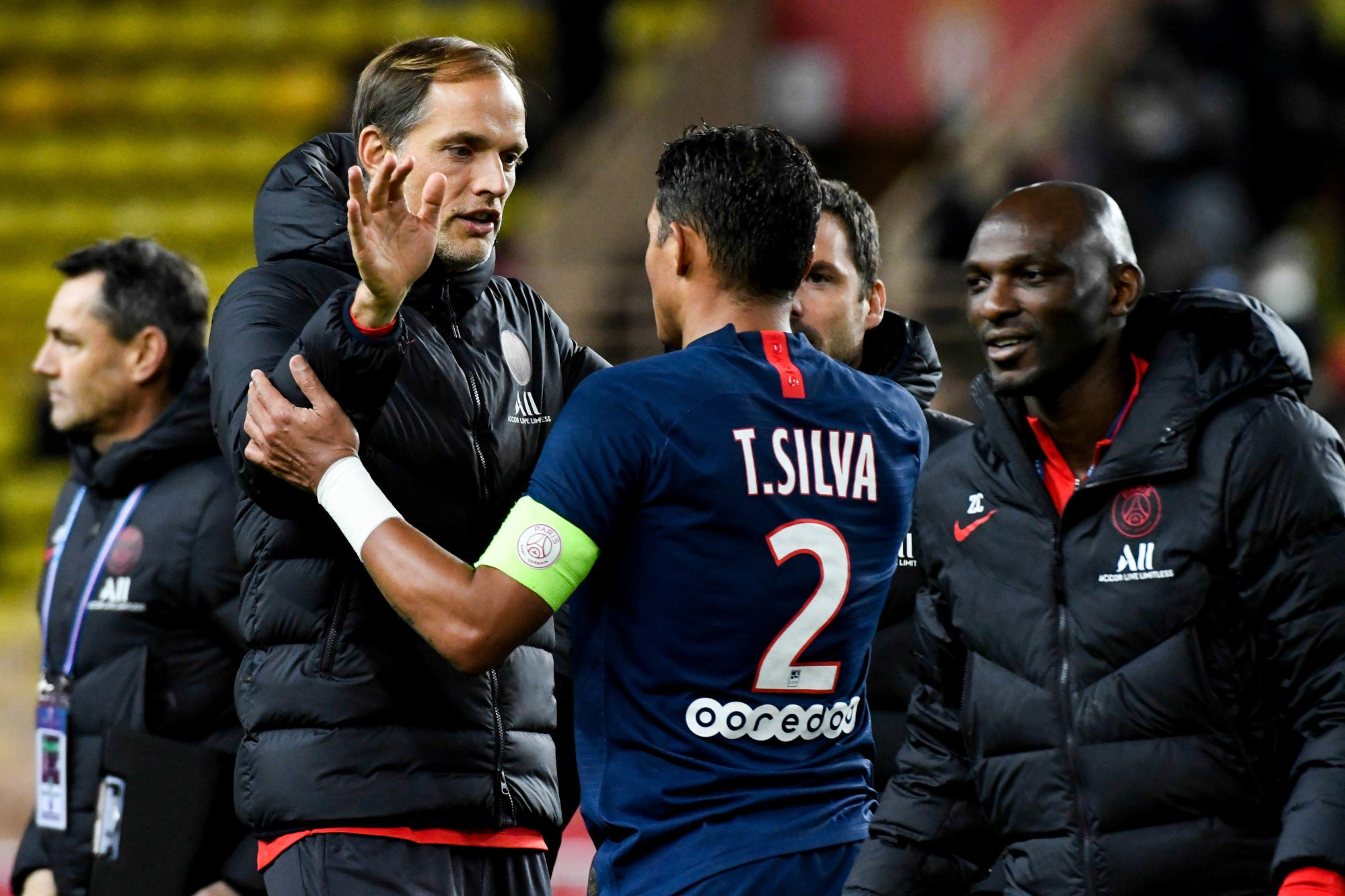 "Tuchel évoque Thiago Silva ""On parlera...on ne sait jamais."""