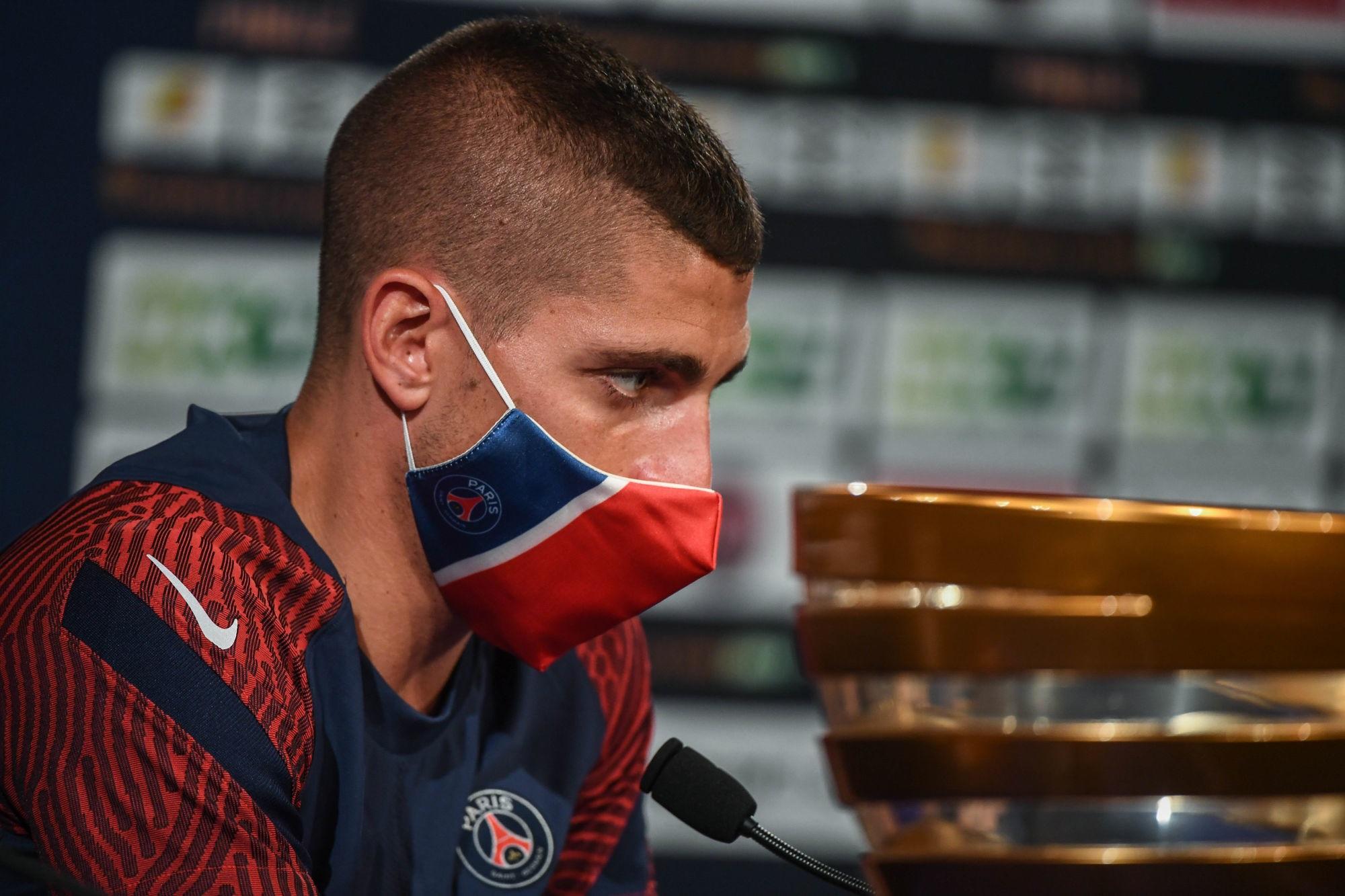 PSG/OL - Verratti se confie sur la concurrence, la blessure de Mbappé et l'importance du match