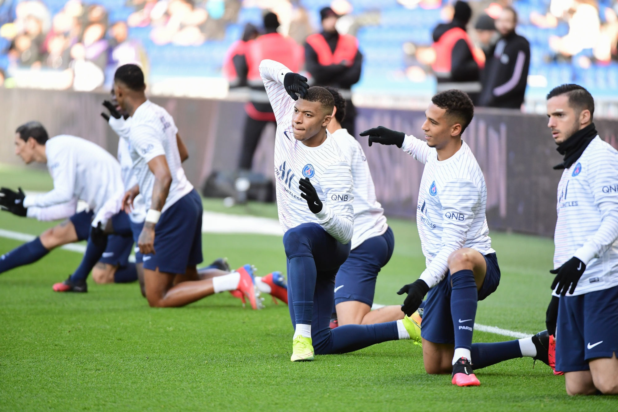 PSG/OL - Suivez le début de l'entraînement des Parisiens ce jeudi à 18h15