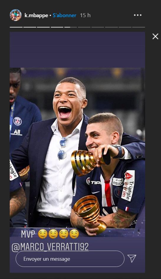 Les images du PSG ce samedi: Fête du titre! Le groupe respire le bonheur !