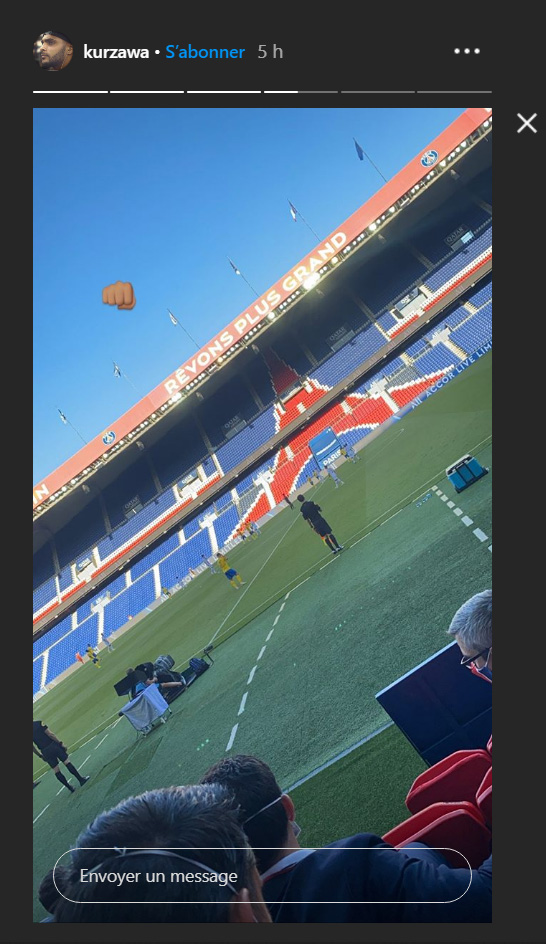 Les images du PSG ce mercredi: PSG/Sochaux et première de nos Titis