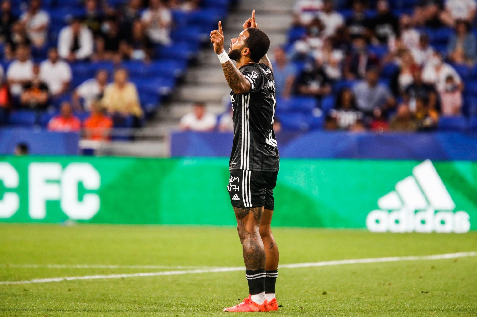 """Ligue 1 - Depay annonce que l'OL veut """"essayer de titiller le PSG"""""""